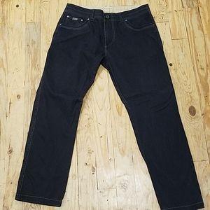 Men's Khul Black Pants Sz 36 x 30